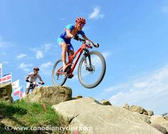 Jaroslav Kulhavy (Czech) catches air out on course on his way to victory Mountain Bike Races, Cycling News, Olympic Games, Olympics, Alternative, Bicycle, Action, Racing, Sports