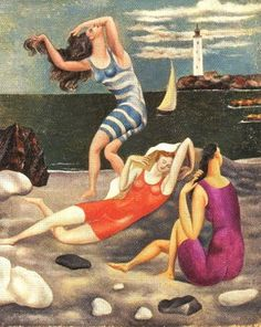 /Picasso The Bathers... I love this painting have not seen it for quite a while. Nice to see it again.