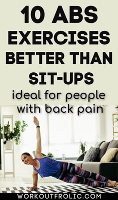 Sit-ups are no longer the gold standard for abs exercise! Here's a list of 10 abs exercises better than sit-ups to strenghten your midline! #abs #absexercises #coretraining Best Chest Workout Routine, Workout Routines For Beginners, Postpartum Workout Plan, Mommy Workout, Morning Yoga Workouts, Body Workouts, Core Exercises, Back Exercises, At Home Core Workout