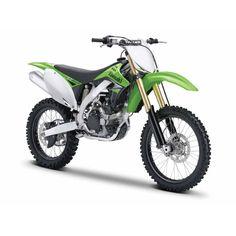 Moto Miniatura Kawasaki KX 450F 1:12 - Maisto #brinquedo