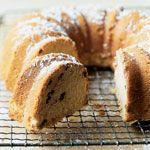 Chocolate Chip Irish Cream Pound Cake Recipe | could substitute the irish cream for egg nog for winter time!