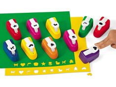Easy-Punch Design Shapes at Lakeshore Learning