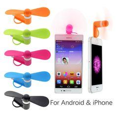 Handy-mini elektrischer Ventilator-Kühler für iPhone tragbares Geschenk