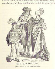 Niederländische Bekleidung des Bürgertums Anfang 16. Jahrhundert