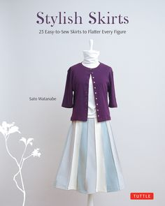 Sew chic and original skirts with this stylish Japanese sewing book.Stylish Skirts is the English edition of a popular Japanese sew-it-yourself fashion book which allows you to create simple yet stylish skirts that look and feel great—at a fraction of the cost of store-bought fashion. With this Japanese Sewing book, there's no end to the kinds of skirts you can create to match your body shape, your taste in fabrics and colors, and your mood (not to mention your favorite tops, shoes and…