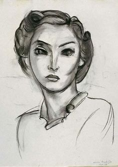 0bf54ed6403 Henri Matisse - Tête de femme (Portrait of Mrs Paley)