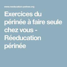 Exercices du périnée à faire seule chez vous - Réeducation périnée Postnatal Workout, After Pregnancy, Hiit, Positive Vibes, Pilates, Positivity, Gym, Yoga, Sports