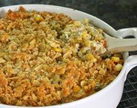 Corn and Lima Bean Bake