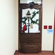 Welcome to Narnia! Door Decoration