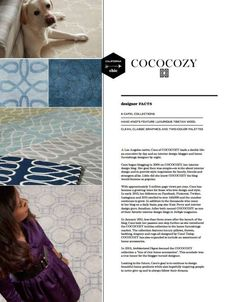 COCOCOZY for Capel Rugs - 2015