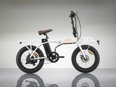 The RadMini is the first and only electric folding fat bike with heavy duty front and rear cargo racks and a powerful 750 watt 48 volt power system.