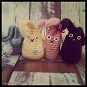 long tall and fat bottom bunnies free pattern