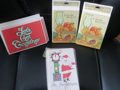Lot of 4 Holiday Invitation Packages Unused by HolySerendipity