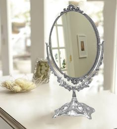Oval Mirror Big