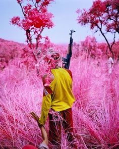 Richard Mosse (for Zadie Smith's Two Men Arrive In A Village)