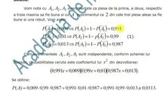 X-Statistica si probabilitati-Scheme clasice de probabilitate-Exersare