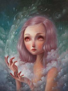 On our website now: CHAOS//KOSMOS: ANIA TOMICKA & ERICA CALARDO @ PINK ZEPPELIN GALLERY http://beautifulbizarre.net/2014/09/18/chaoskosmos-ania-tomicka-erica-calardo-pink-zeppelin-gallery/