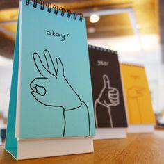 Handy Standing Notebook