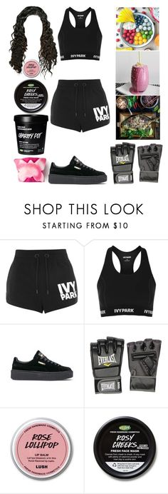 """Boxing Workout"" by allison-syko ❤ liked on Polyvore featuring Topshop, Puma and Everlast"