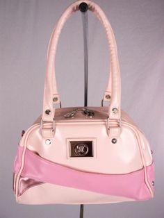 LULULEMON Purse Handbag Pink Sugar Tote Bowling Ball Style
