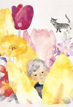 Chihiro Iwasaki's water-colored illustration