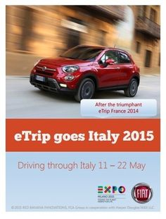 eTrip goes Italy 2015 - Driving through Italy 11 – 20 May