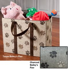 Every pet owner needs a corner to store her pet's toys and goodies. These durable toy chests lend some organization and tidiness to that corner.