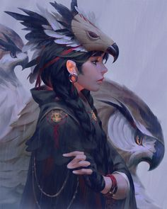 Post with 174 votes and 4669 views. Tagged with wallpaper, mildly interesting, anime, princess mononoke; Shared by EnJnY. Indie Kunst, Indie Art, Fantasy Character, Character Art, Fantasy Kunst, Fantasy Art, La Reproduction, Warrior Girl, Bird Drawings
