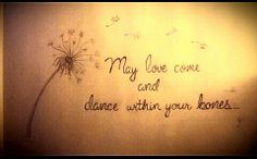 Ben howard lyric art sketch - Master, 'may love come.and dance within your bones'. One of my fav lines