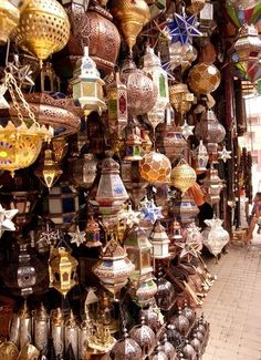 Marrakech...if I ever get I might need about six suitcases to get home again