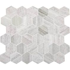 Chenielle veincut limestone in a hexagon one of my favorites