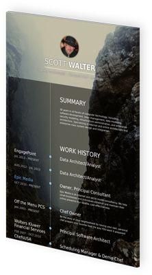 resume example software architect