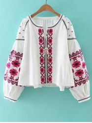 SHARE & Get it FREE   Bohemian Style Lace Up Embroidery JacketFor Fashion Lovers only:80,000+ Items • New Arrivals Daily • Affordable Casual to Chic for Every Occasion Join Sammydress: Get YOUR $50 NOW!