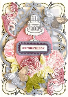 #annaversary #celebr8annagriffin   HSN January 10th, 2018- Treasury Stamps and Dies