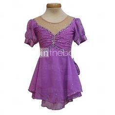 Lavender princess style skate dress