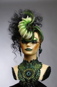 """Take a minute and vote for me! I promise it only takes a sec just hit the link and click the """"Love it"""" icon. Thanks for your support ! Work Hairstyles, Creative Hairstyles, Competition Hair, Fantasy Hair, Fantasy Makeup, Avant Garde Hair, Crazy Hair Days, High Fashion Makeup, Hair Reference"""