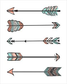 Shop for art on Etsy, the place to express your creativity through the buying and selling of handmade and vintage goods. Wood Arrow, Arrow Art, Cute Girl Wallpaper, Cute Patterns Wallpaper, Creative Notebooks, Arrow Drawing, Moon Crafts, Dream Catcher Art, Tribal Arrows