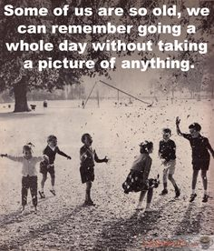 And it was just as awesome, even when we didn't share it with the rest of the world... #vintagechildren #playground #photography