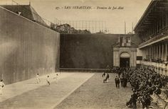 1917 - Jai-Alai - Aategorrieta - Donostia