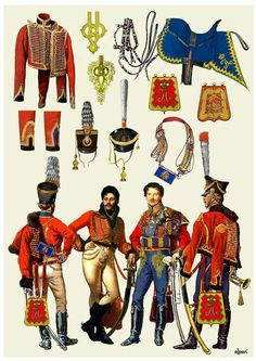 Little Russia (Belorusski) Hussar regiment.