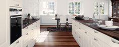 wood & white kitchen Rimini Crema Køkken