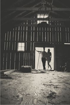 Engagement pictures in a barn - anyone have a barn I could borrow for a couple hours???