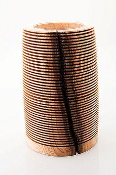 Hollow forms | Bilder von Vasen und Hohlformen aus Holz: Bernhard Nepelius - Drechselkunst - woodturning art by Bernhard Nepelius