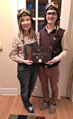 Carl and Ellie from Up | 31 Two-Person Costumes Guaranteed To Up Your Halloween Game
