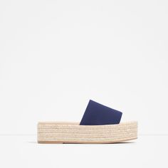 PLATFORM LEATHER SANDALS-Leather-SHOES-WOMAN-SALE | ZARA United States