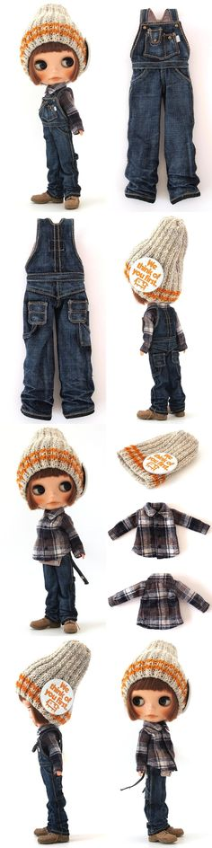 ** Blythe outfit ** Lucalily 365**の画像:mahounote.