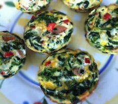 Paleo, gluten free Egg Muffins #InspiredEats