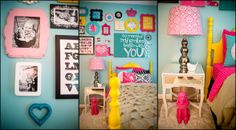 London's Big Girl Room - Girls' Room Designs - Decorating Ideas - Rate My Space LOVE these colors great site LOTS ideas