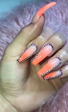 Pin Kjvougee Perfect Nails Gorgeous Fire Coffin