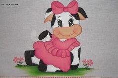Resultado de imagen para vaquitas pintadas en tela